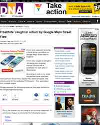 Prostitute caught in action by Google Maps Street: DNA